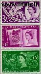 Groot-Brittannië grb 303#305  1958 Commonwealth Games  Postfris