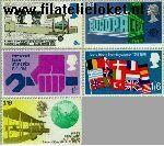 Groot-Brittannië grb 511#515  1969 Verjaardagen en jubilea  Postfris