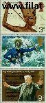 Groot-Brittannië grb 594#596  1972 Jubilea en herdenkingen  Postfris