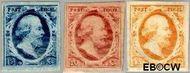 Nederland NL 1#3  1852 Koning Willem III- 1e emissie   cent  Gestempeld