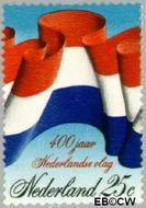 Nederland NL 1011  1972 Nederlandse vlag 25 cent  Gestempeld