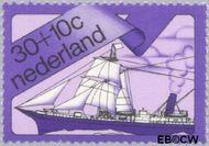 Nederland NL 1027  1973 Schepen 30+10 cent  Gestempeld