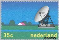 Nederland NL 1034  1973 Telecommunicatie 35 cent  Postfris