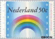 Nederland NL 1035  1973 Meteorologische samenwerking 50 cent  Gestempeld
