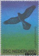 Nederland NL 1043  1974 Vogelbescherming 25 cent  Gestempeld