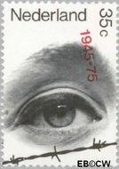 Nederland NL 1072#  1975 Bevrijding  cent  Gestempeld