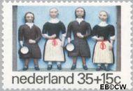 Nederland NL 1079  1975 Gevelstenen 35+15 cent  Gestempeld