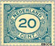 Nederland NL 109  1921 Cijfer type 'Vürtheim' 20 cent  Gestempeld