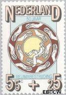 Nederland NL 1096  1976 Ned. Ver. van Rheumatiekbestrijding 55+25 cent  Gestempeld