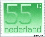 Nederland NL 1114a  1981 Cijfer type 'Crouwel' 55 cent  Postfris