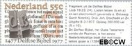 Nederland NL 1131#  1977 Delftse Bijbel  cent  Gestempeld