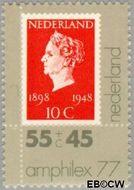 Nederland NL 1140  1977 Postzegeltentoonstelling Amphilex '77 55+45 cent  Gestempeld