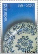 Nederland NL 1155  1978 Aardewerk 55+20 cent  Gestempeld