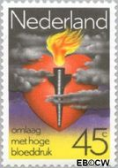 Nederland NL 1162  1978 Gezondheidszorg 45 cent  Gestempeld