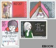Nederland NL 1167#1170  1978 Leren  cent  Gestempeld