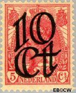 Nederland NL 117  1923 Opruimingsuitgifte 10#5 cent  Gestempeld