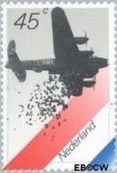 Nederland NL 1198  1980 Bezetting en bevrijding 45 cent  Postfris