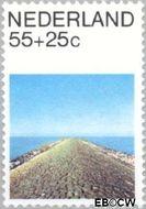 Nederland NL 1217  1981 Landschappen 55+25 cent  Gestempeld