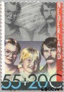 Nederland NL 1233  1981 Integratie en preventie 55+20 cent  Gestempeld