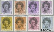 Nederland NL 1238a#1251a  1982 Koningin Beatrix- Type 'Struycken'  cent  Gestempeld
