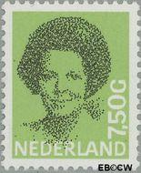 Nederland NL 1252  1990 Koningin Beatrix- Type 'Struycken' 750 cent  Gestempeld