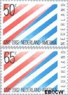 Nederland NL 1266#1267  1982 Betrekkingen Nederland-U.S.A.  cent  Gestempeld