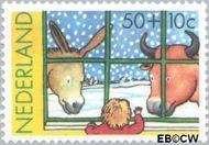 Nederland NL 1295  1983 Wintermotieven 50+10 cent  Gestempeld