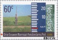 Nederland NL 1346  1986 Amsterdams Peil 60 cent  Gestempeld