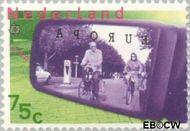 Nederland NL 1405  1988 C.E.P.T.- Transport en communicatie 75 cent  Postfris