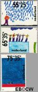 Nederland NL 1415#1417  1988 Kindertekeningen  cent  Gestempeld