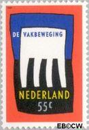 Nederland NL 1421  1989 Vakbeweging 55 cent  Gestempeld