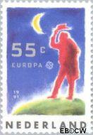 Nederland NL 1475  1991 C.E.P.T.- Europese ruimtevaart 55 cent  Gestempeld