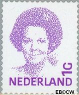 Nederland NL 1491b  2001 Koningin Beatrix- Type 'Inversie' 100 cent  Gestempeld