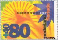 Nederland NL 1523  1992 Floriade 80+40 cent  Gestempeld