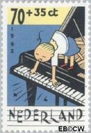Nederland NL 1539  1992 Muziek maken 70+35 cent  Gestempeld