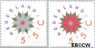Nederland NL 1542#1543  1992 Gereduceerd tarief  cent  Gestempeld