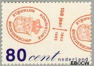 Nederland NL 1552  1993 Kon.Notariële Broederschap 80 cent  Gestempeld