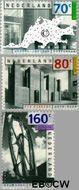 Nederland NL 1565#1567  1993 C.E.P.T.- Hedendaagse kunst  cent  Gestempeld