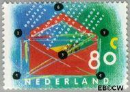 Nederland NL 1572  1993 Tien voor uw brieven 80 cent  Gestempeld