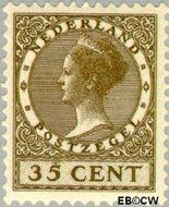 Nederland NL 159  1925 Koningin Wilhelmina- Type 'Veth' 35 cent  Gestempeld