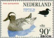Nederland NL 1600  1994 Postzegeltentoonstelling Fepapost 90+80 cent  Postfris