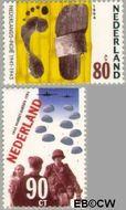 Nederland NL 1618#1619  1994 Tweede Wereldoorlog  cent  Gestempeld