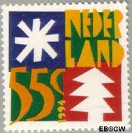 Nederland NL 1628  1994 Gereduceerd tarief 55 cent  Gestempeld