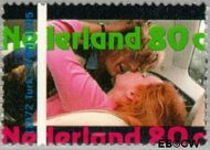 Nederland NL 1635  1995 Internationaal Jaar van de film 80 cent  Gestempeld