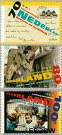 Nederland NL 1639#1641  1995 Ouderen en mobiliteit  cent  Gestempeld