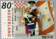Nederland NL 1682#  1996 Noord-Brabant  cent  Gestempeld
