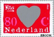 Nederland NL 1709#  1997 Kraszegels  cent  Postfris