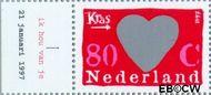 Nederland NL 1709c  1997 Kraszegels 80 cent  Gestempeld