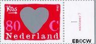Nederland NL 1709j  1997 Kraszegels 80 cent  Postfris