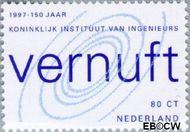 Nederland NL 1730  1997 Kon.Instituut van Ingenieurs 80 cent  Gestempeld